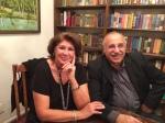 دکتر اقتداری و همسر ایشان در جشن مهرگان ۱۳۹۳ کانون