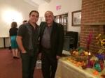 دکتر اقتداری و آرشیا در جشن مهرگان ۱۳۹۳ کانون