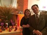 آقای فرزاد شبستر و همسر ایشان در جشن مهرگان ۱۳۹۳ کانون دوستداران فرهنگ ایران