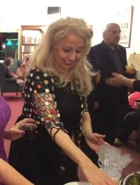 خانم زهره معانی، مدیر برگزاری جشن مهرگان ۱۳۹۳ کانون