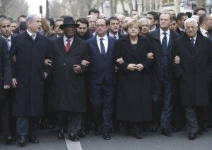 رهبران کشورها در فرانسه